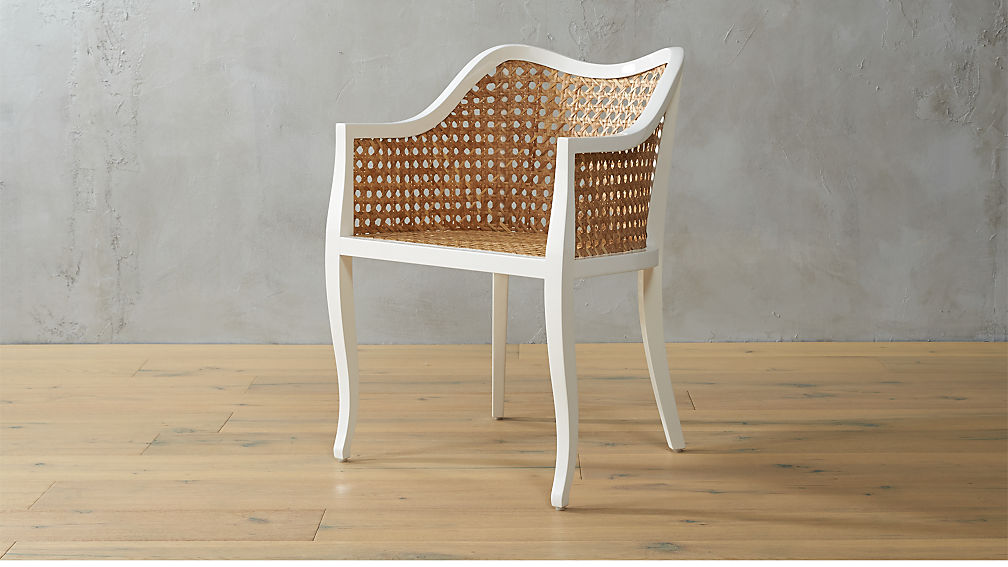 Taybas Cane Rattan Chair Reviews Cb2