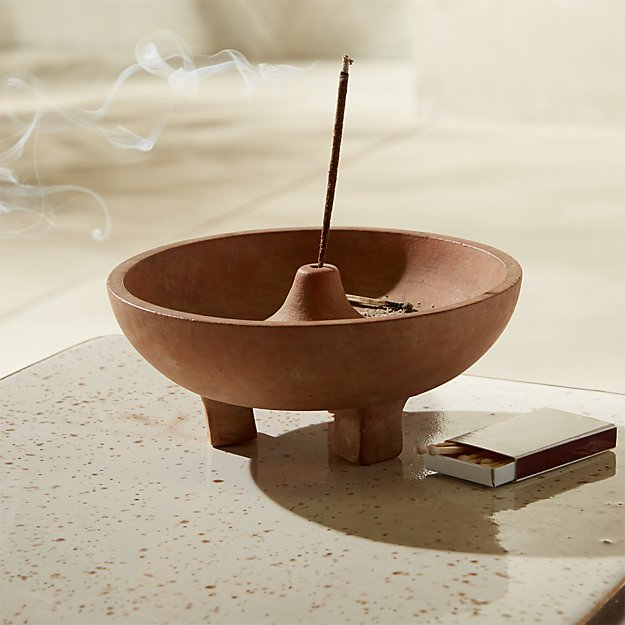Terracotta Incense Burner - Image 1 of 2