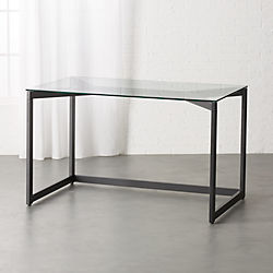 Tesso Black Desk
