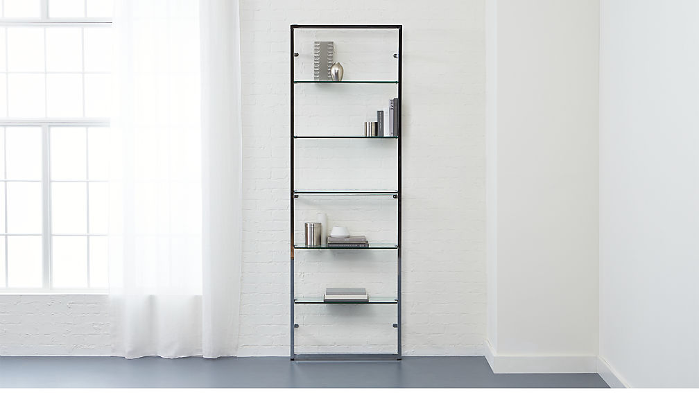 Tesso Chrome Bookshelf Reviews Cb2