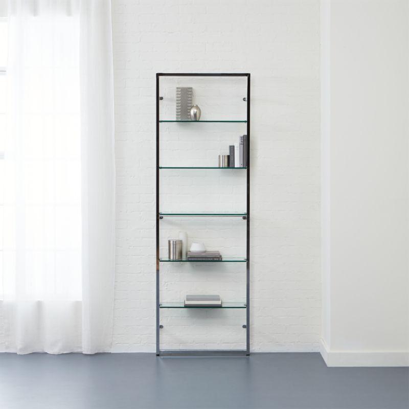 tesso chrome bookshelf + Reviews   CB2