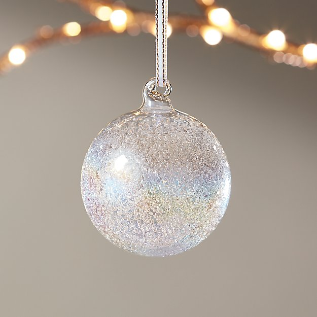 Texture Luster Ball Ornament - Image 1 of 2