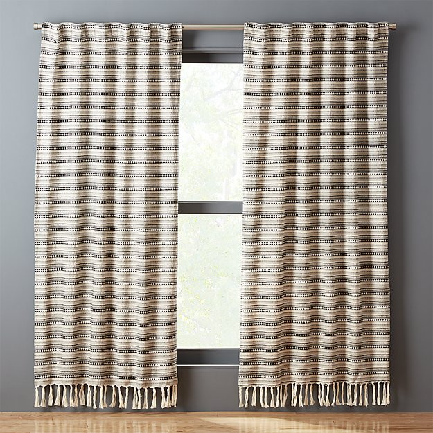 Thalia Fringe Curtain Panel