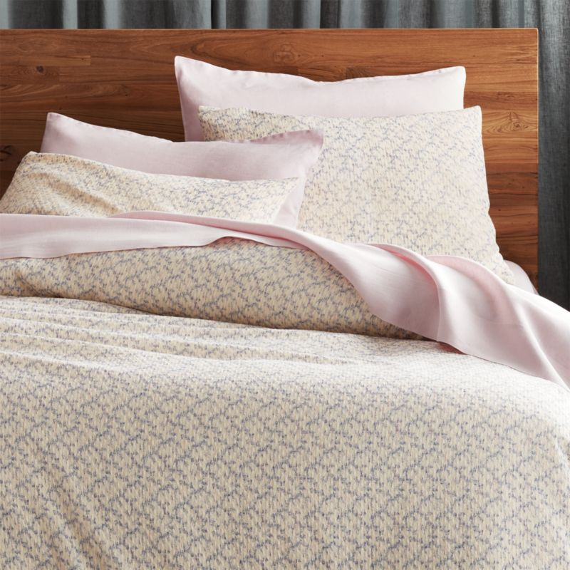 Crate And Barrel Desi Rug: Full And Queen Duvet Covers