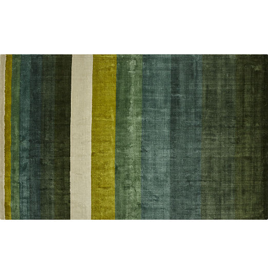 Green Area Rugs Cb2
