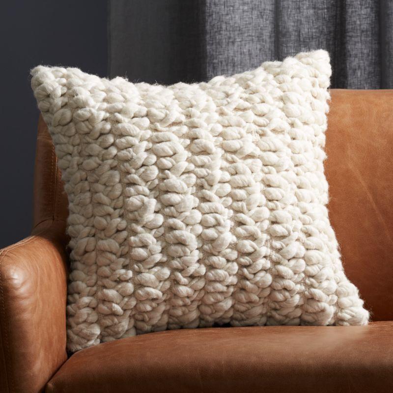"""20"""" Tillie Wool Pillow"""