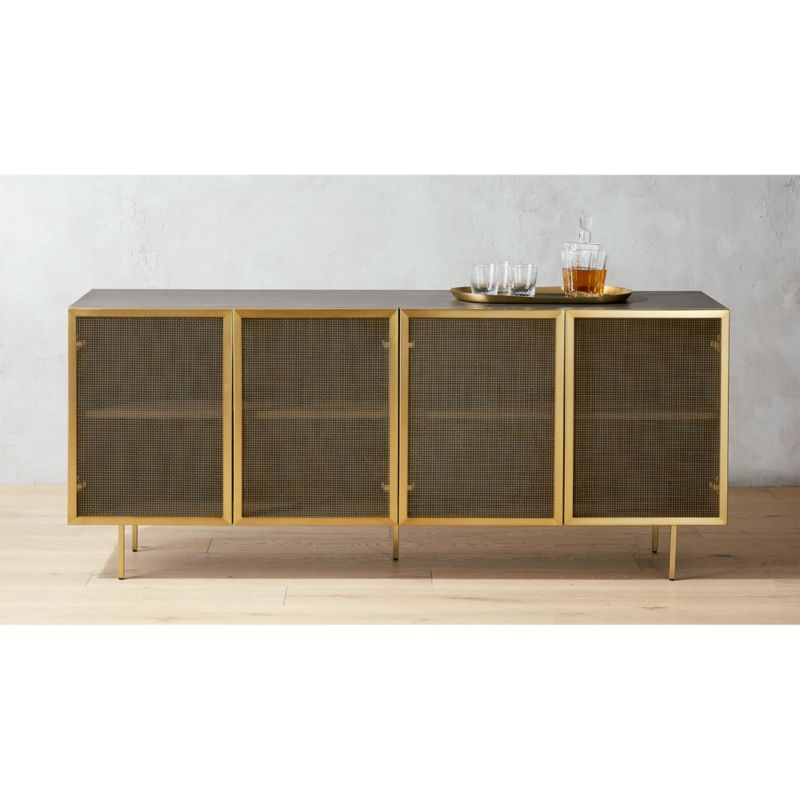 Credenza Contemporary : Cinco sideboard contemporary sideboards modern sauder