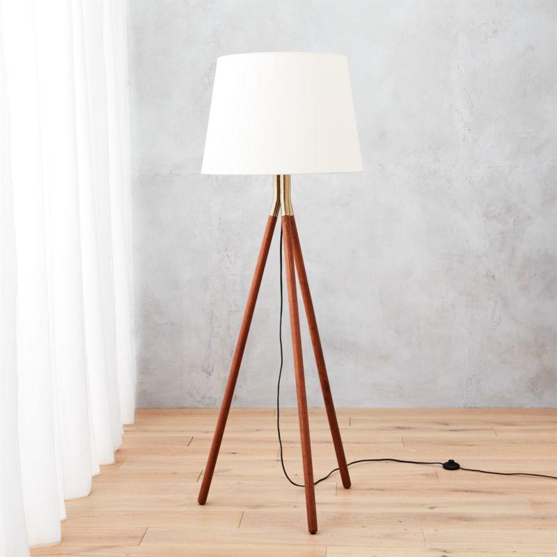 Tripod floor lamps cb2 aloadofball Gallery