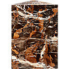 View product image Tri Brown Marble Side Table - image 6 of 8
