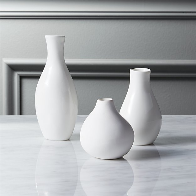 3 Piece Trio Vase Set Reviews Cb2