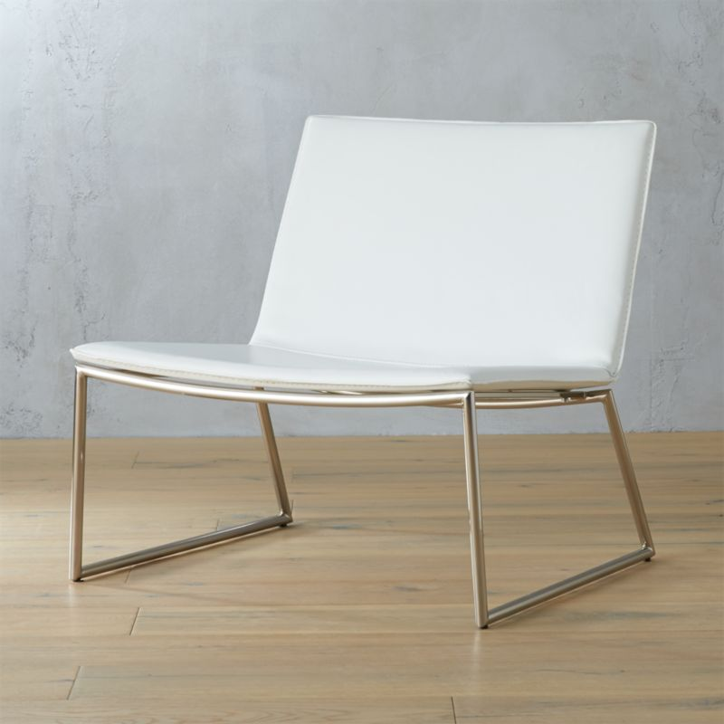 leather by knoll melbourne for chair with sling sale