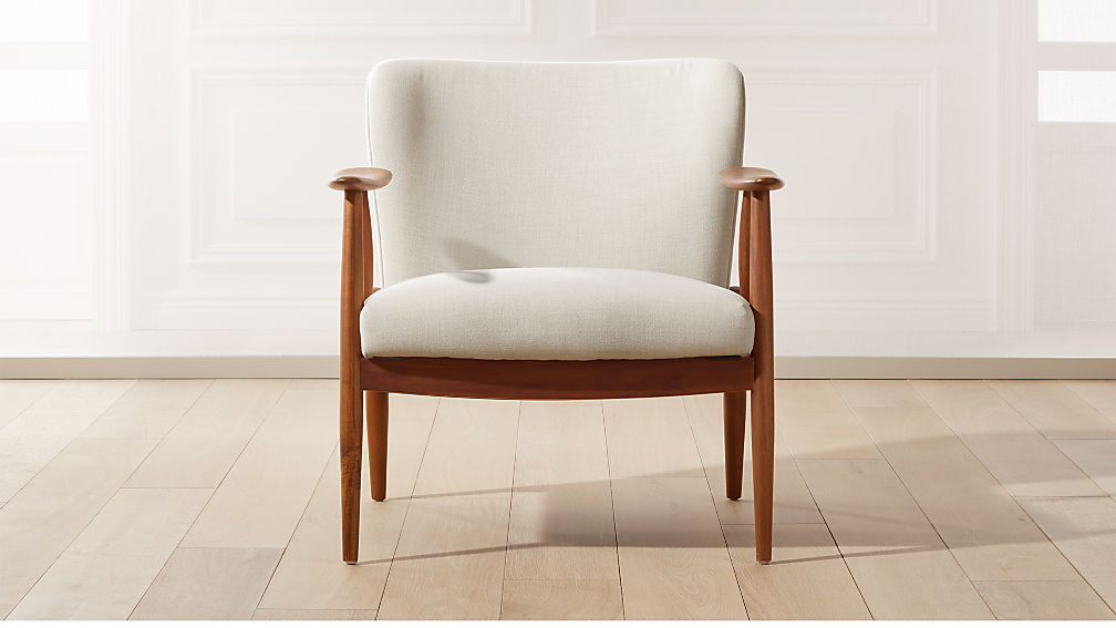 Troubadour Natural Wood Frame Chair - Image 1 of 8