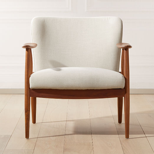 Troubadour Natural Wood Frame Chair