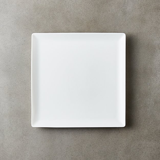 Tuck White Square Salad Plate - Image 1 of 8