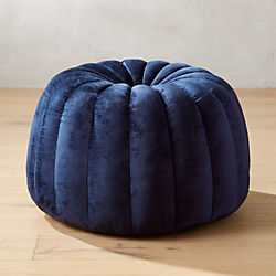 Modern Poufs and Floor Pouf Seating | CB2