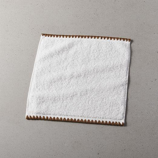Tuli Copper Trim Washcloth