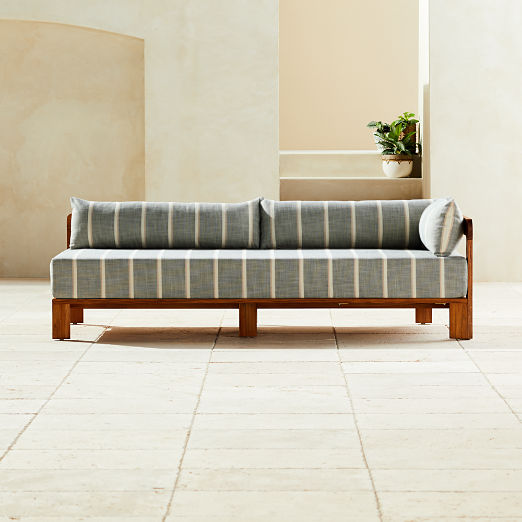 Turn Teak Right Arm Daybed