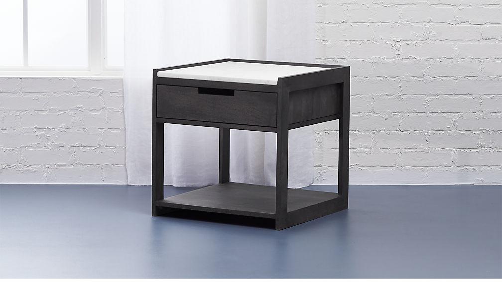 Tux Marble Top Nightstand - Image 1 of 10