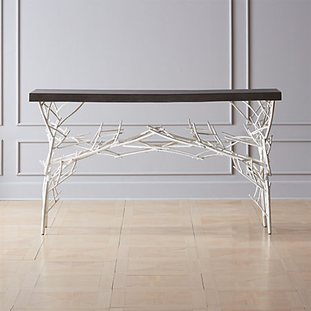 Twig Console Table Cb2