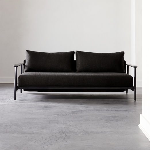 Una Black Sleeper Sofa