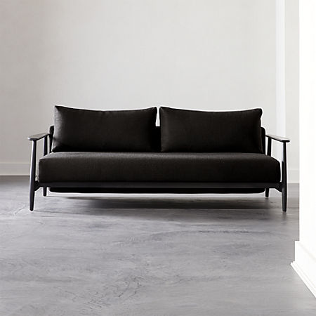 Awesome Una Black Sleeper Sofa Dailytribune Chair Design For Home Dailytribuneorg