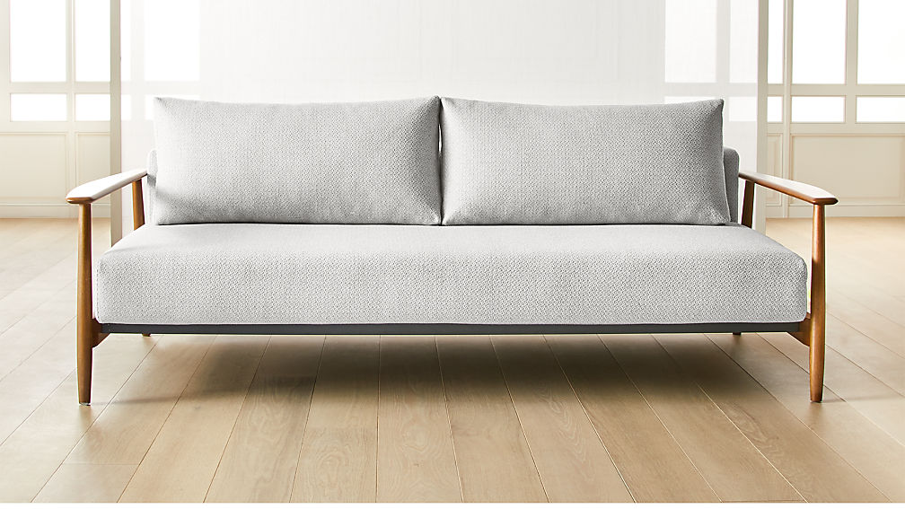 Una Grey Sleeper Sofa - Image 1 of 6