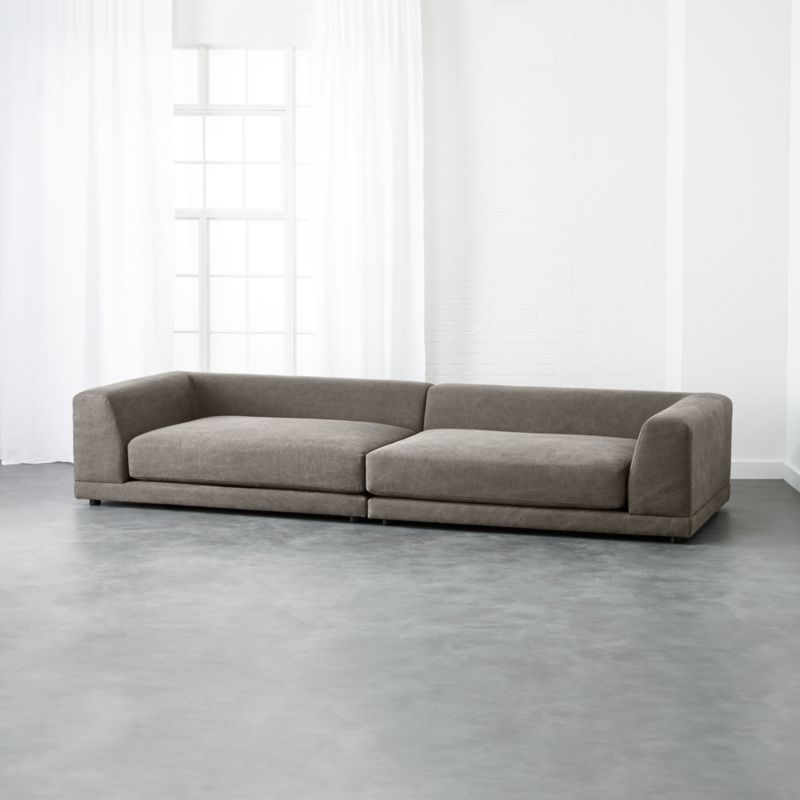 Charmant Uno 2 Piece Sectional Sofa