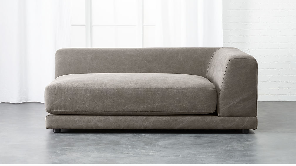 Pewter Sofa Albany Sofa Chaise In Pewter Jerome S