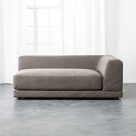 Uno Right Arm Sofa Cb2