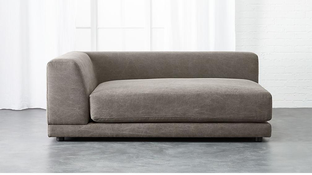 Uno Left Arm Deep Chaise Lounge Reviews Cb2