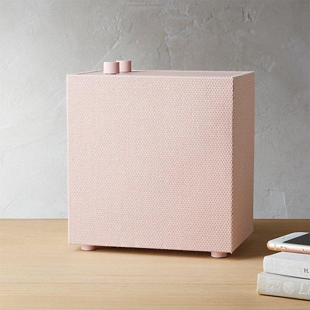 Cb2 Free Shipping >> Urbanears Lotsen Pink Multi Room Wifi Speaker Reviews Cb2