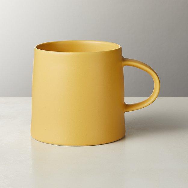 Valley Matte Yellow Mug - Image 1 of 4