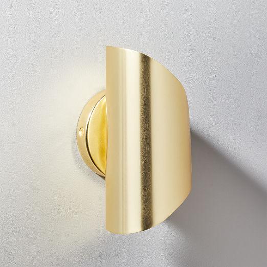 Vanguard Brass Sconce