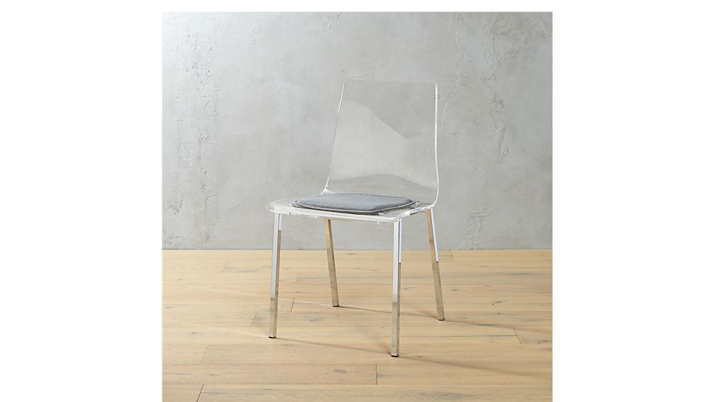 Bistro Universal Zinc Chair Cushion + Reviews | CB2