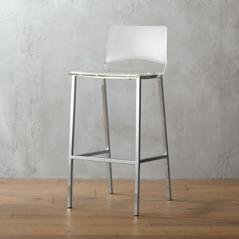 Vapor 30 Acrylic Bar Stool Reviews Cb2