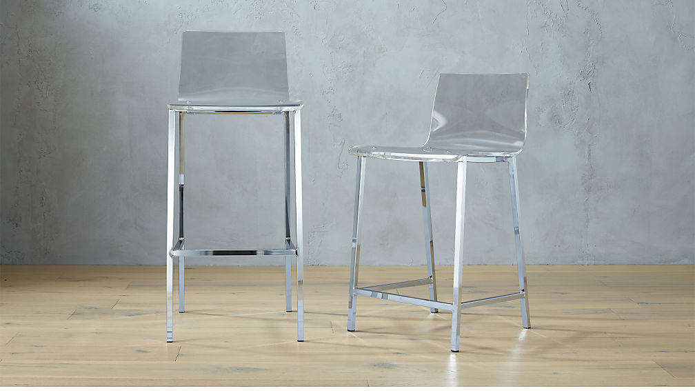Ghost Chair Counter Stool Shapeyourminds Com
