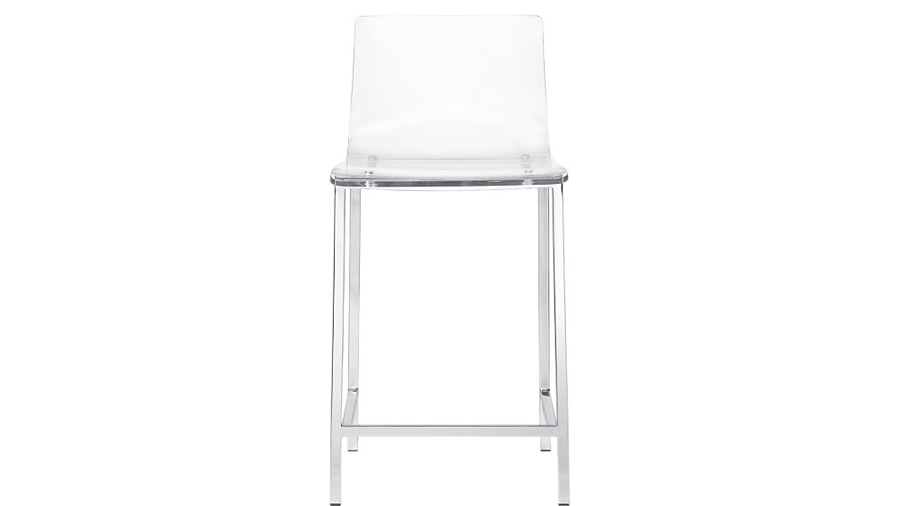Vapor 24 Acrylic Counter Stool Reviews Cb2