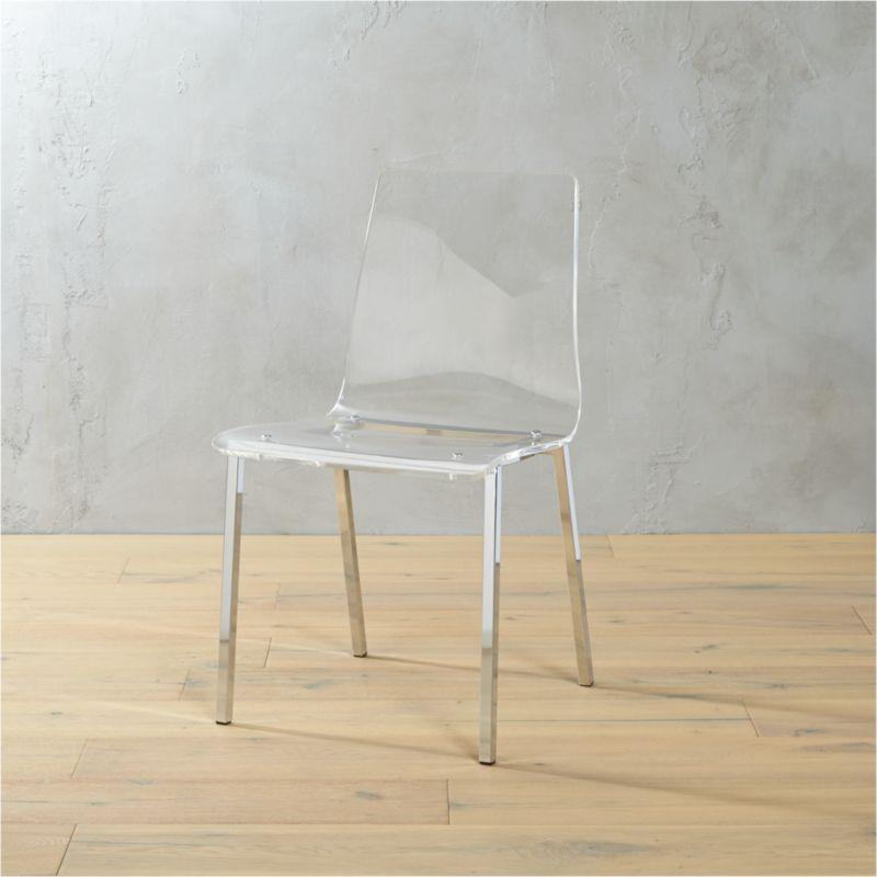 E Vapor Acrylic Chair