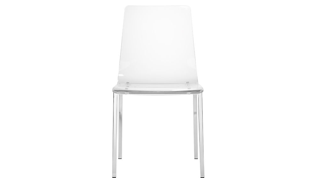 Marvelous Vapor Acrylic Chair + Reviews | CB2
