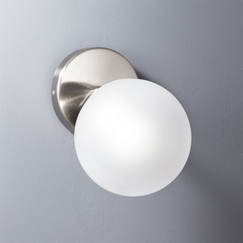 Vega bath 3 bulb brass wall sconce reviews cb2 aloadofball Choice Image