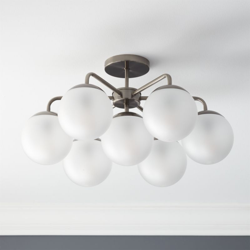 Modern flush mount lighting cb2 aloadofball Images