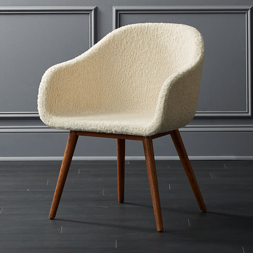 Venice Studio Faux Shearling Task-Office Chair