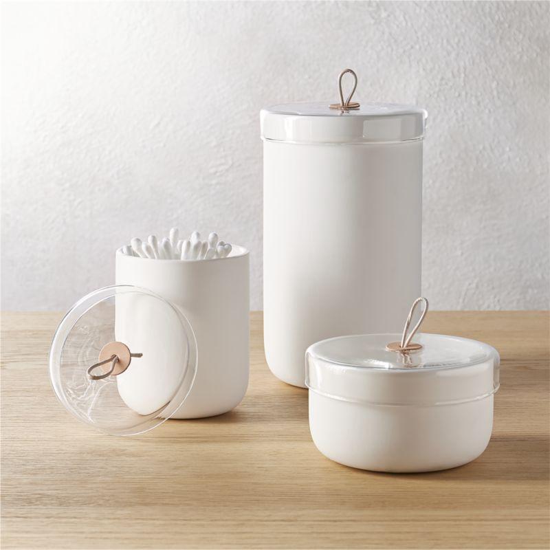 glass amazon canisters canister set s avaz bathroom ideas