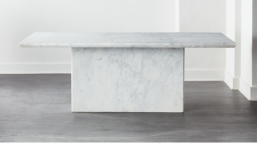 Verona Marble Dining Table Reviews Cb2