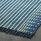 View product image Verso Indigo Blue Striped Rug - image 3 of 3