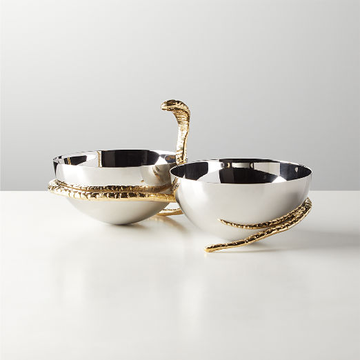 Vicky Double Serving Bowl