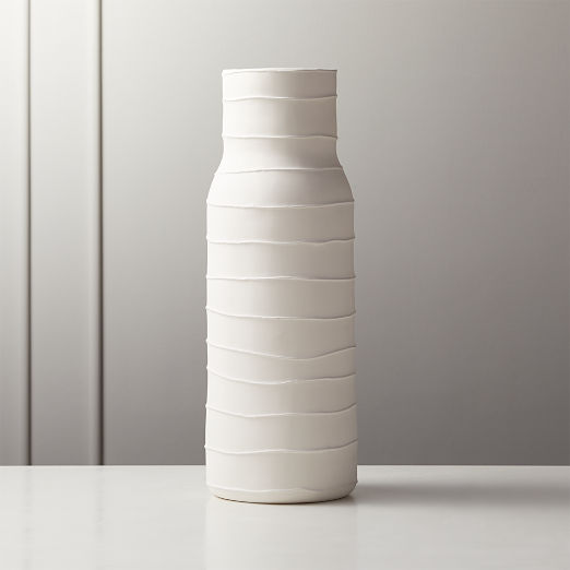 Viga Striped Vase