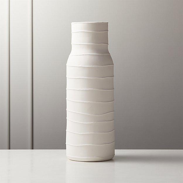 Viga Striped Vase - Image 1 of 5