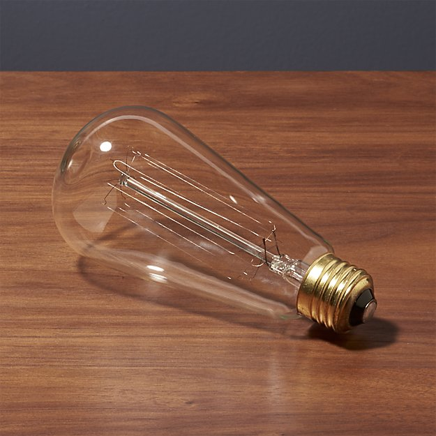 Vintage Filament 60W Light Bulb - Image 1 of 4