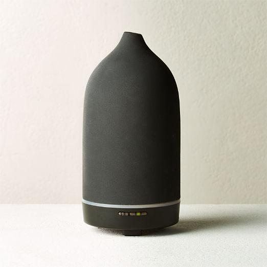 Vitruvi Black Stone Porcelain Essential Oil Diffuser